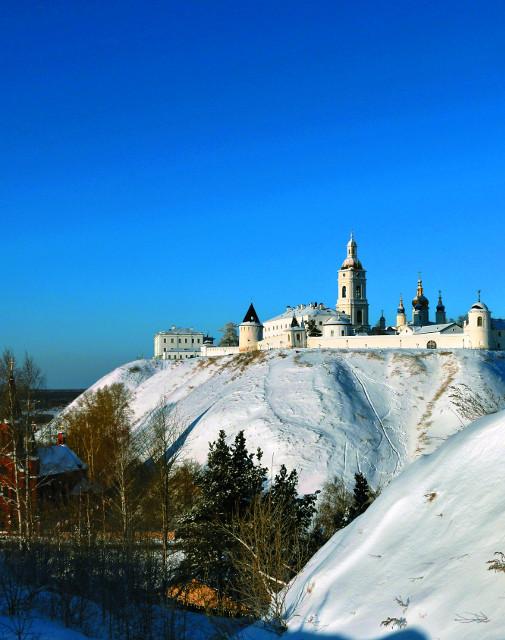 В Тобольске был построен единственный на всю Сибирь каменный кремль