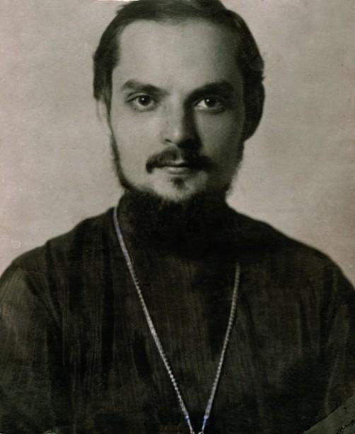 Священник Сергий Мечев. 1923 год