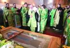 В Борисоглебском мужском монастыре молитвенно отметили 400-летие преставления преподобного Иринарха