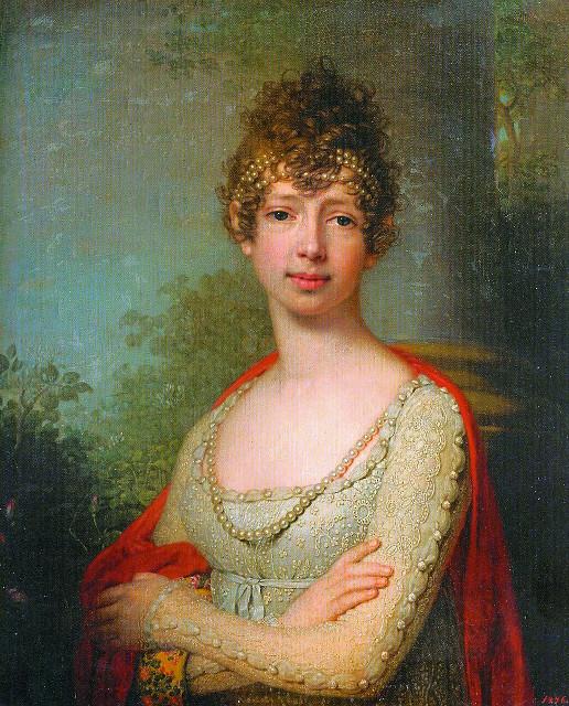 Портрет великой княжны Марии Павловны. В.Л. Бровиковский. 1804 г.