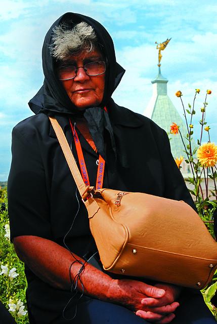 Елена, учительница из деревни Святой Троицы