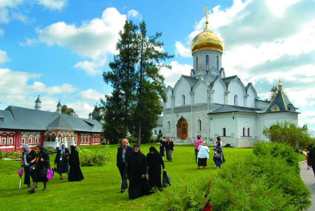 В монастыре Саввы Сторожевского