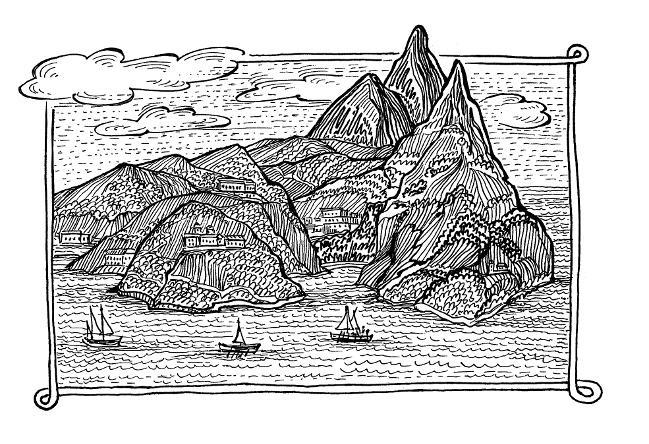 Тело мученика Акакия принесли на корабль, который доставил святые мощи на Афон