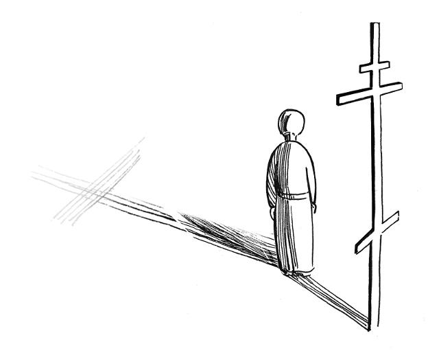 Столько раз он впадал в искушения и даже отрекся от Христа, но каждый раз Господь помогал ему под- няться и в конце концов сподобил мученической кончины