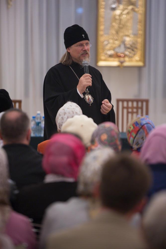 Митрополит Марк открывает серию встреч, посвященную сущности понятий и практики православного паломничества