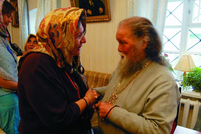 В Оптиной Пустыни. Встреча с настоятелем монастрыя, архимандритом Венедиктом