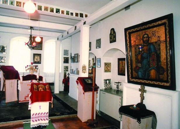 Интерьер Никольского храма, 1980-е годы