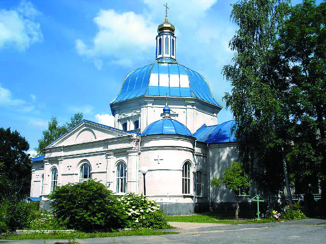 Троицкий Марков монастырь