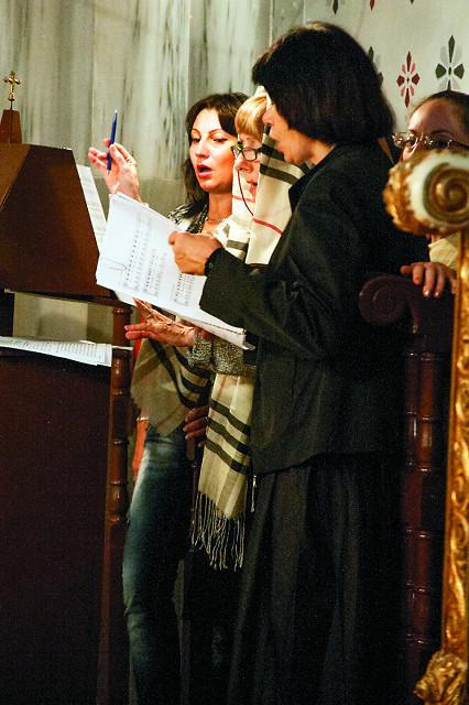 Певчие русской Андреевской церкви