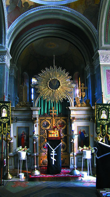 Интерьер веймарского храма святой Марии Магдалины