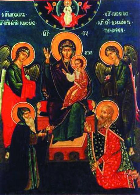 Снетогорская икона Божией Матери