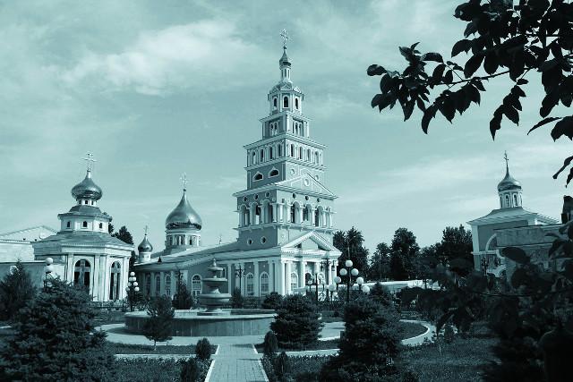Кафедральный собор  Успения Божией Матери в Ташкенте в наши дни