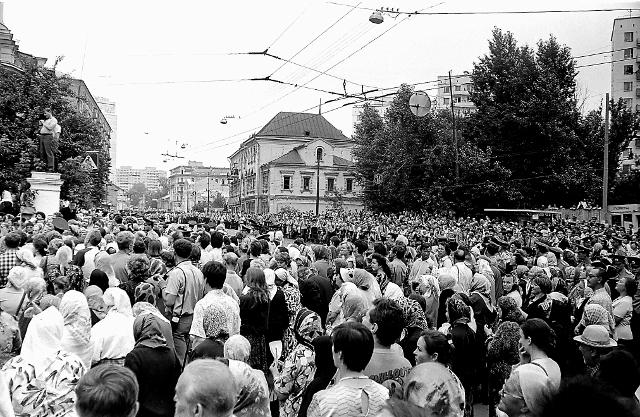 Проводы из Москвы обретенных мощей вылились в новое масштабное торжество