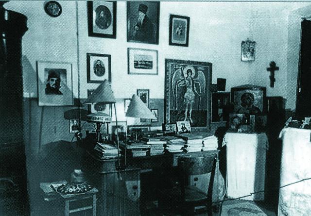Келья священника в Ташкенте