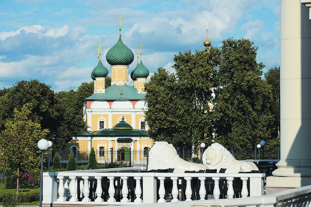 Спасо-Преображенский храм, где первоначально  был захоронен царевич Димитрий