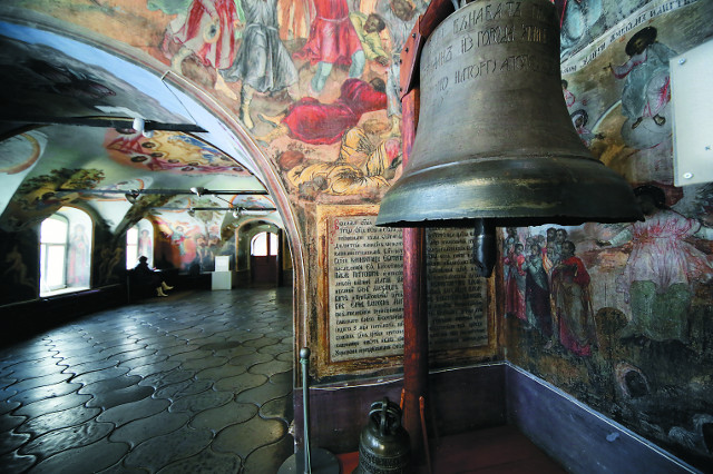 Набатный колокол, известивший о смерти царевича