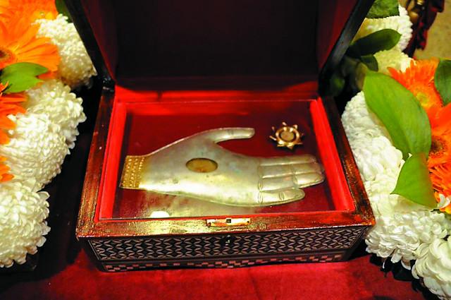 Ковчег с частицей мощей святого Климента