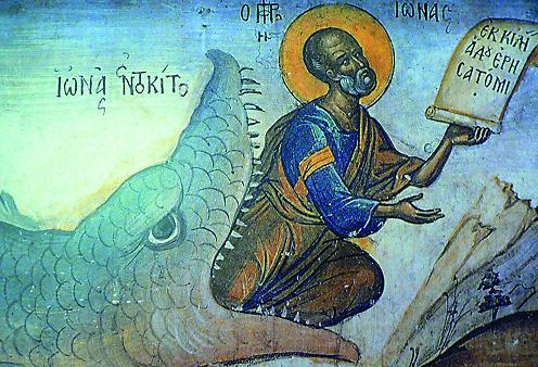 В Ветхом Завете Яффо упоминается и в связи с пророком Ионой. В яффской гавани пророк сел на корабль и начал свое многодневное морское путешествие, во время которого был проглочен китом и провел в его чреве три дня и три ночи