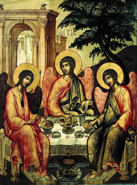 """""""Троица Ветхозаветная"""", 1671 г."""