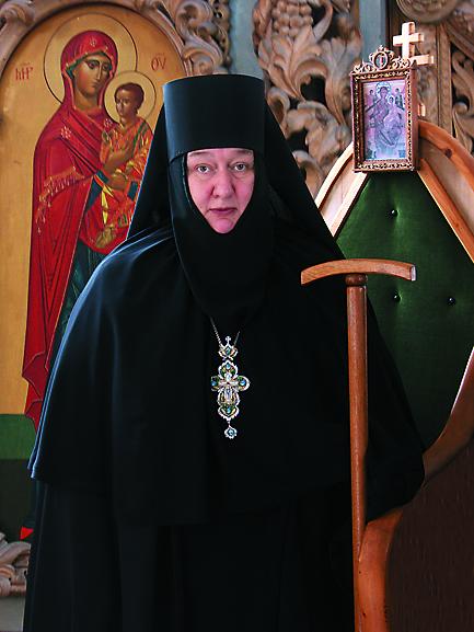 Игумения Николая, настоятельница Никольского Черноостровского монастыря