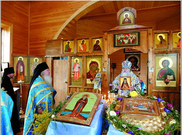 В Муромском Успенском монастыре отпраздновали 625 лет со дня преставления его основателя, преподобного Лазаря Муромского