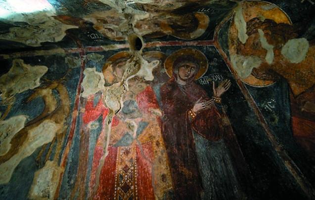 Фрески домонгольского и монгольского периода – более древние, чем работы Дионисия