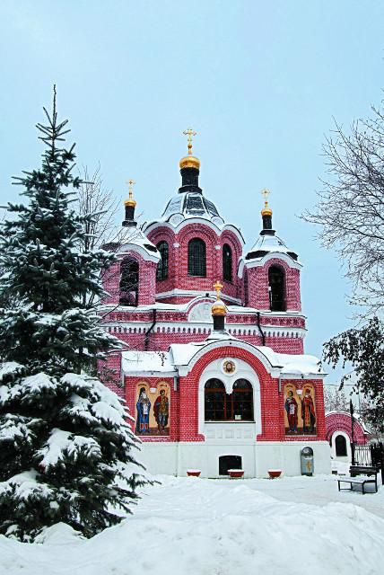 Храм в честь иконы Божией Матери «Знамение» в Ховрине