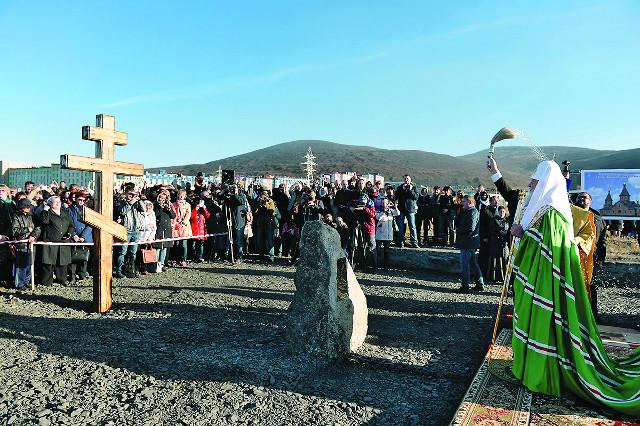 В самом северном городе России заложен храм святых новомучеников и исповедников Церкви Русской