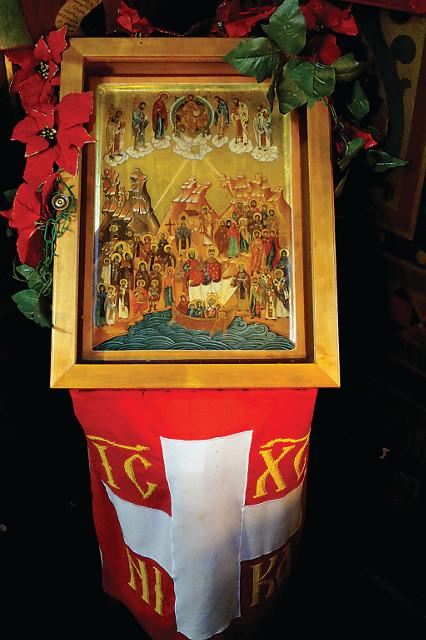 Икона всех Швейцарских (Гельветийских) святых