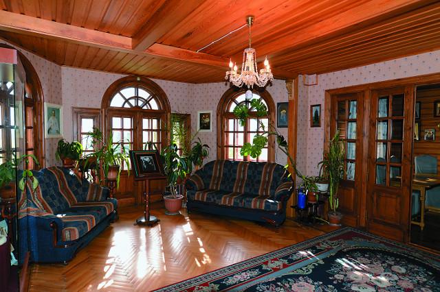 Дом, где в последние годы жил отец Авель  и где принимал многочисленных посетителей