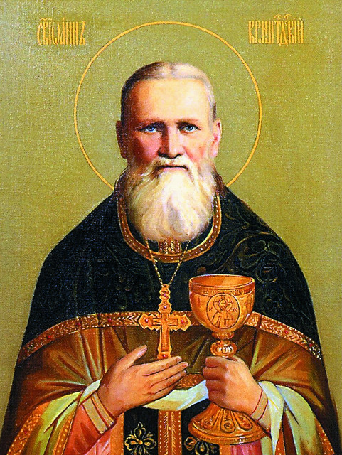 Святой праведный Иоанн Кронштадтский - небесный покровитель храма