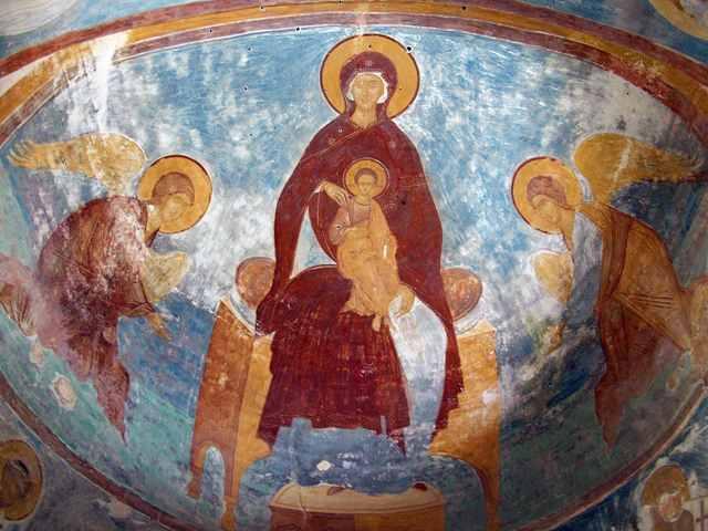 Фрески храма Рождества Пресвятой Богородицы