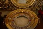 Ковчег с главой Вифлеемского младенца установлен рядом с алтарем в Успенском соборе Иоанно-Богословского монастыря