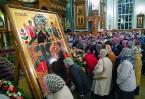 Копия чудотворного образа, хранящегося в Ватопедском монастыре, прибыла в Воронеж