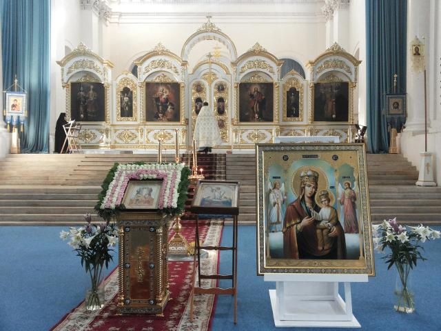 Икона Божией Матери «Черниговская-Ильинская»