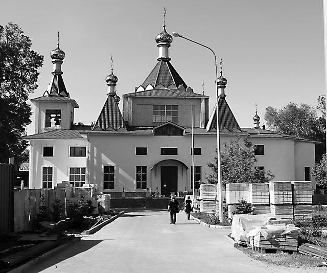 Софийский собор Иверско-Серафимовского монастыря