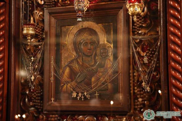 Высоко-Петровская Влахернская икона Божией Матери