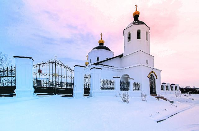 Церковь Богоявления в селе Каипы