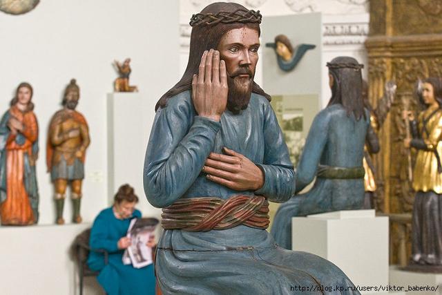 Пермская художественная галерея. Деревянная храмовая скульптура