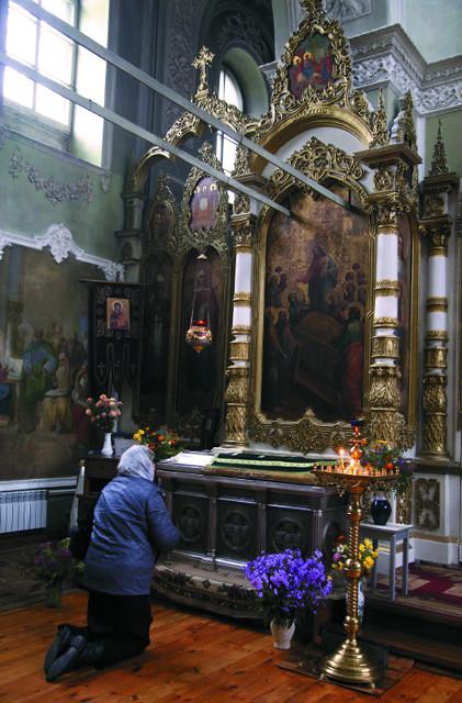 Мощи благоверной княгини Анны Кашинской почивают в  Вознесенском соборе