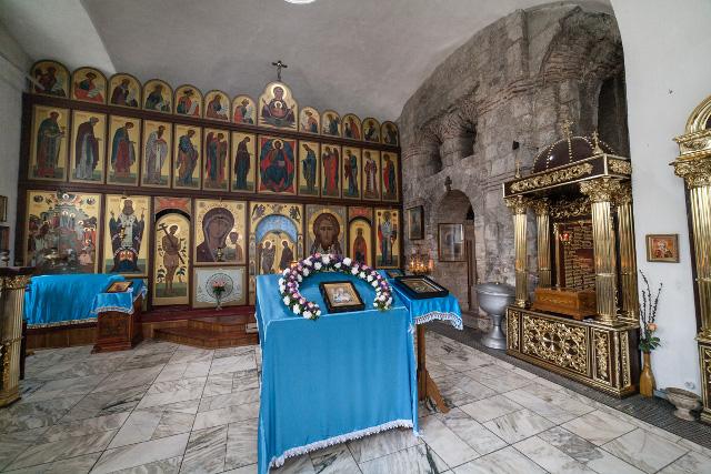 Внутреннее убранство Иоанно-Предтеченской церкви