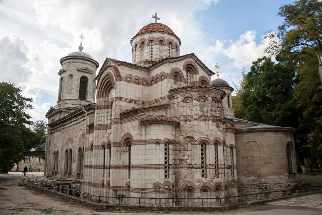 На месте византийской базилики стоял когда-то античный храм