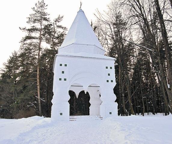 Часовня «Крест» при въезде в г. Переславль-Залесский