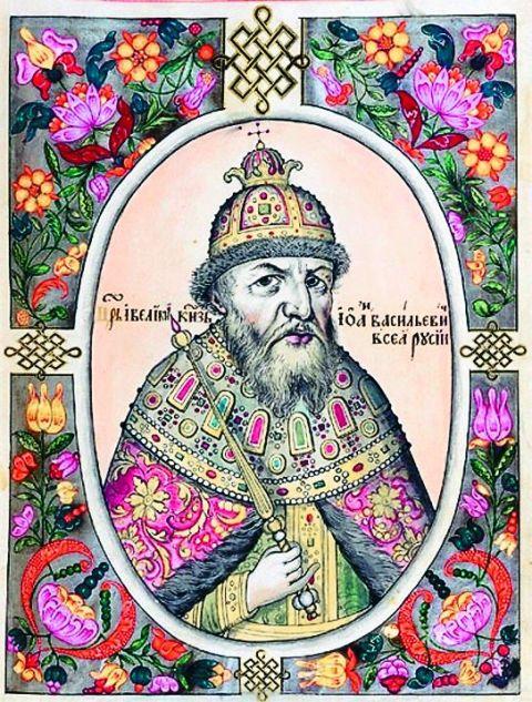 За несколько часов до смерти Иван IV был пострижен в монахи с именем Иона