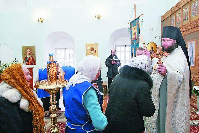 Наместник монастыря игумен Феофилакт