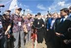 В Сергиевом Посаде участники велопробега встретились с Патриархом Московским и всея Руси Кириллом