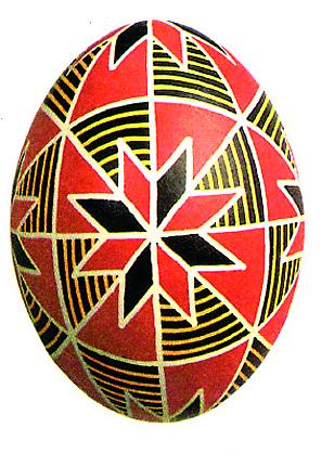 Первое письменное упоминание об обычае дарить на Пасху яйца было найдено в древней рукописи из пергамента (Х век), хранящейся в библиотеке монасты- ря святой Анастасии Узорешительницы