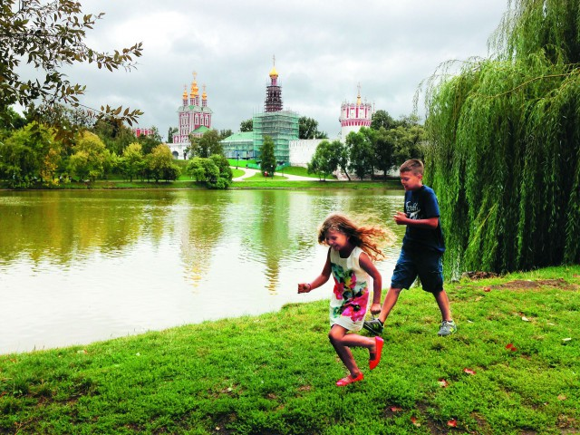 Большой Новодевичьй пруд