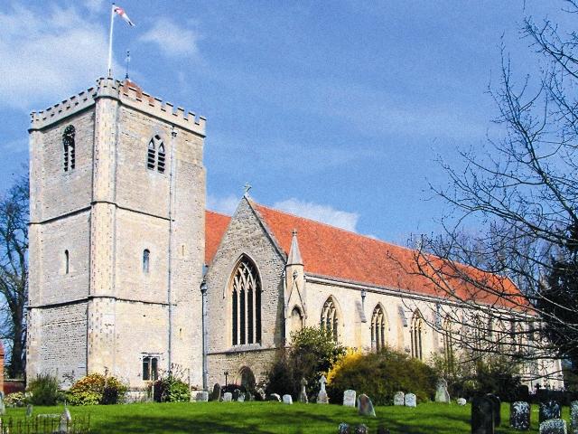Дорчестер-на-Темзе – церковь аббатства свв. Петра и Павла