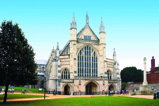 Кафедральный собор в Винчестере